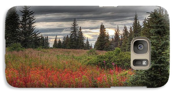 Galaxy Case featuring the photograph Storm Clouds In Fall by Michele Cornelius