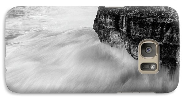 Galaxy Case featuring the photograph Stormy Sea 1 by Pedro Cardona
