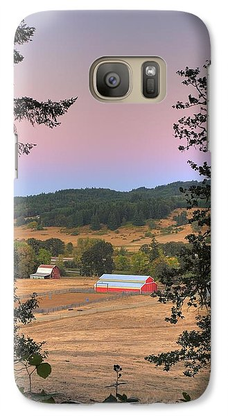 Galaxy Case featuring the photograph Storybook Farm by Tyra  OBryant
