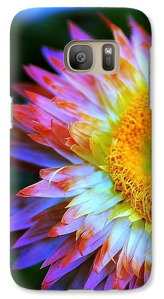 Galaxy Case featuring the photograph Strawflower by Judi Bagwell