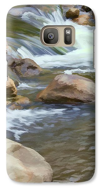 Galaxy Case featuring the photograph Stream by John Crothers