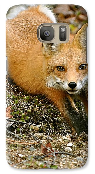 Galaxy Case featuring the photograph Stretching Fox by Rick Frost