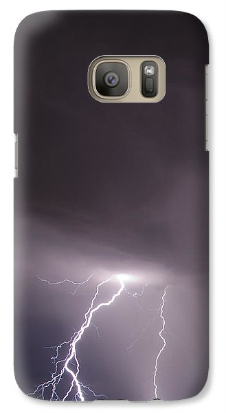 Galaxy Case featuring the photograph Strike by John Crothers