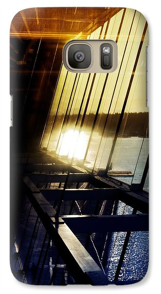 Galaxy Case featuring the photograph Structural Vision by JM Photography