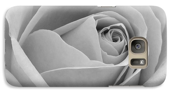 Galaxy Case featuring the photograph Study In Black And White by Cindy Manero