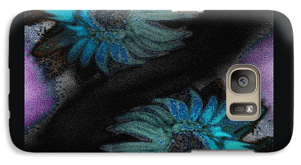 Galaxy Case featuring the photograph Subterranean Memories As Glimpses Into Heaven by Lenore Senior