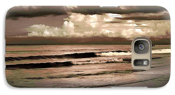 Galaxy Case featuring the photograph Summer Afternoon At The Beach by Steven Sparks