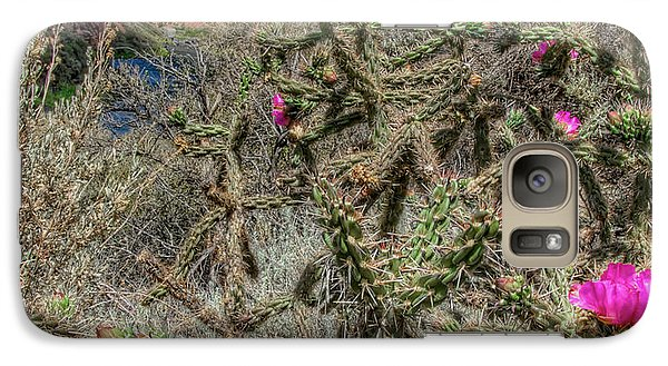 Galaxy Case featuring the photograph Summer Bloom by Britt Runyon