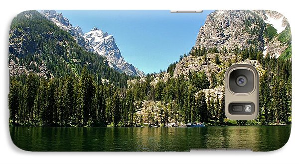 Galaxy Case featuring the photograph Summer Day At Jenny Lake by Dany Lison