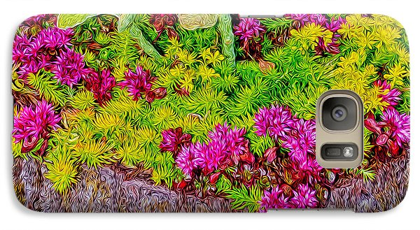 Galaxy Case featuring the photograph Summer Delight by Ken Stanback