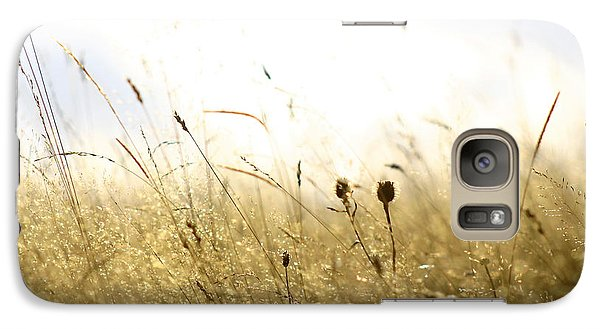 Galaxy Case featuring the photograph Summer Field by Emanuel Tanjala