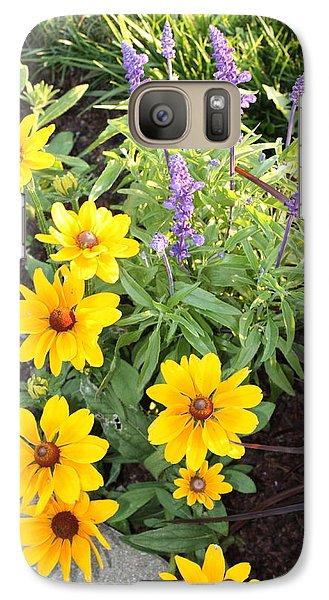 Galaxy Case featuring the photograph Summer Garden by Robin Regan