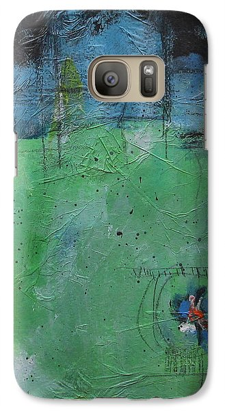 Galaxy Case featuring the painting Summer by Nicole Nadeau