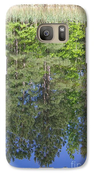 Galaxy Case featuring the photograph Summer Reflection by Tannis  Baldwin
