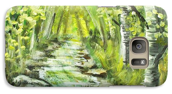 Galaxy Case featuring the painting Summer by Shana Rowe Jackson
