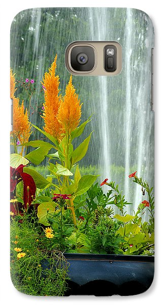 Galaxy Case featuring the photograph Summer Spray by Michelle Joseph-Long