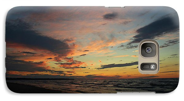 Galaxy Case featuring the photograph Sundown  by Barbara McMahon