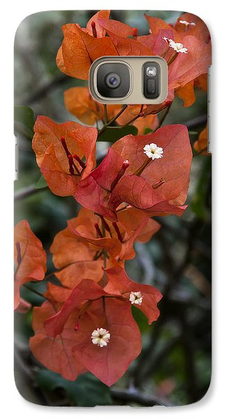 Galaxy Case featuring the photograph Sundown Orange by Steven Sparks
