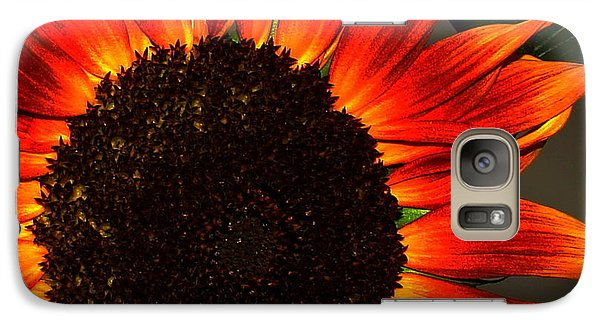 Galaxy Case featuring the photograph Sunfire by Ramona Johnston