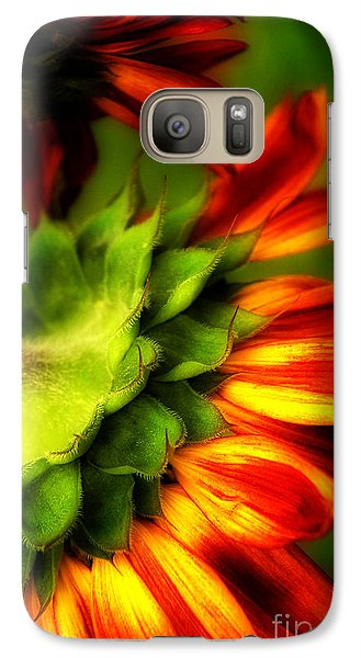 Galaxy Case featuring the photograph Sunflower  by Alana Ranney