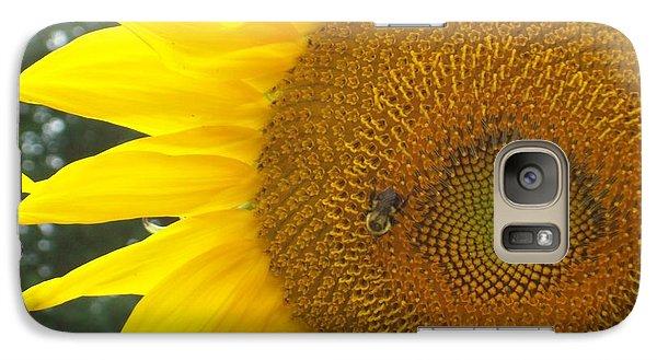 Galaxy Case featuring the photograph Sunflower by Lou Ann Bagnall