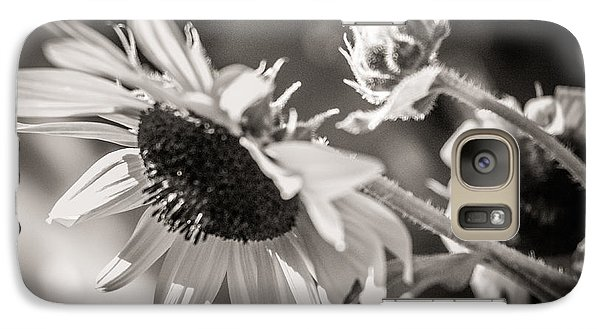 Galaxy Case featuring the photograph Sunflower by Sherry Davis