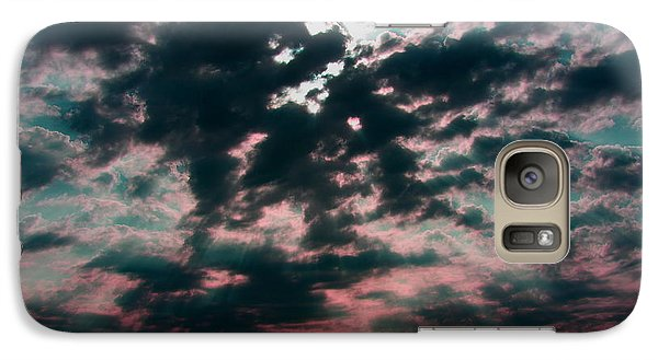 Galaxy Case featuring the photograph Sunrays by Jerry Bunger