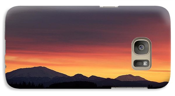 Galaxy Case featuring the photograph Sunrise 3 by Chalet Roome-Rigdon