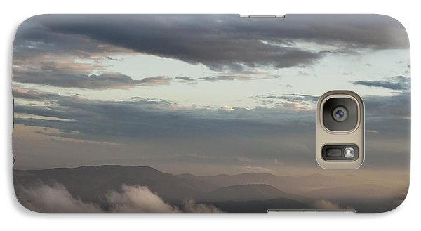 Galaxy Case featuring the photograph Sunrise In The Mountains by Jeannette Hunt