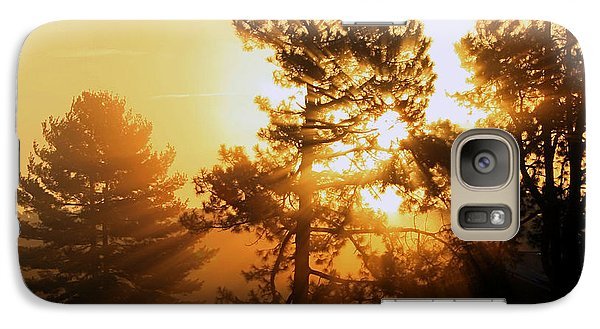 Galaxy Case featuring the photograph Sunrise by Karen Harrison