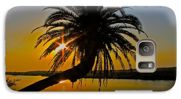 Galaxy Case featuring the photograph Sunrise On The Loop by Alice Gipson