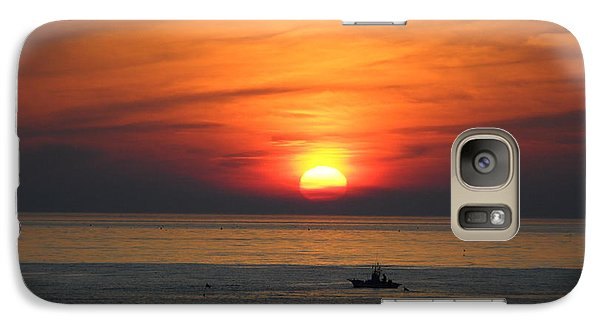 Galaxy Case featuring the photograph Sunrise Over Gyeng-po Sea by Kume Bryant