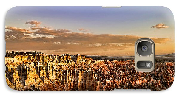 Galaxy Case featuring the photograph Sunrise Over The Hoodoos by Anne Rodkin