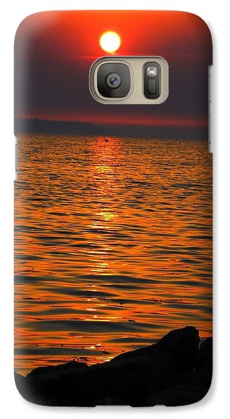 Galaxy Case featuring the photograph Sunset by Colette V Hera  Guggenheim