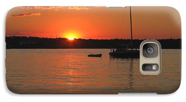 Galaxy Case featuring the photograph Sunset Cove by Clara Sue Beym
