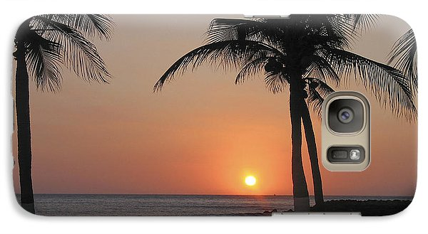 Galaxy Case featuring the photograph Sunset by David Gleeson