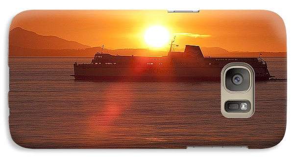Galaxy Case featuring the photograph Sunset by Eunice Gibb