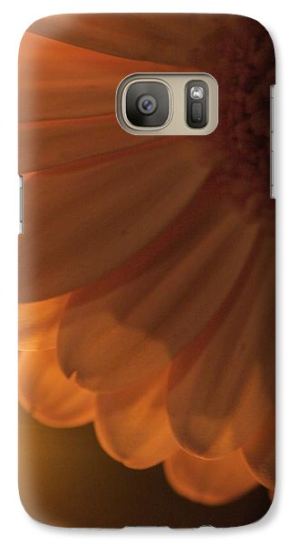 Galaxy Case featuring the photograph Sunset Flower by JM Photography