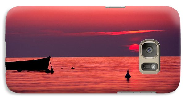 Galaxy Case featuring the photograph Sunset In Elba Island by Luciano Mortula