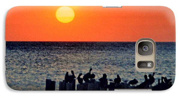 Galaxy Case featuring the photograph Sunset In Florida by Lydia Holly