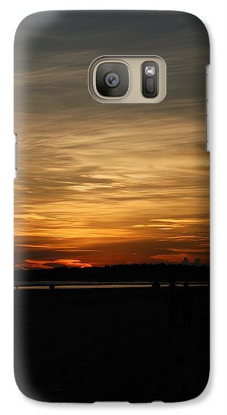 Galaxy Case featuring the photograph Sunset In Pastels by Fotosas Photography