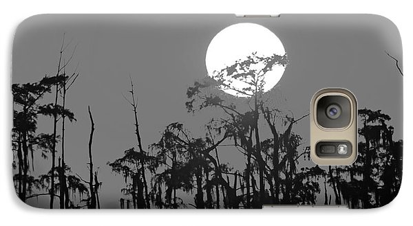 Galaxy Case featuring the photograph Sunset In Swamp by Luana K Perez