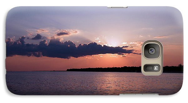 Galaxy Case featuring the photograph Sunset In The Pass by Brian Wright