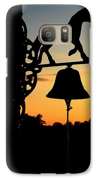 Galaxy Case featuring the photograph Sunset by Karen Harrison
