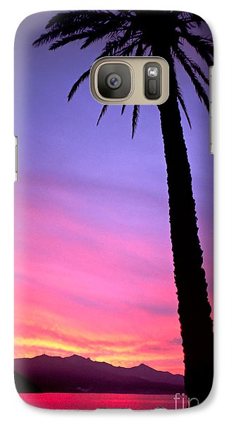 Galaxy Case featuring the photograph Sunset by Luciano Mortula