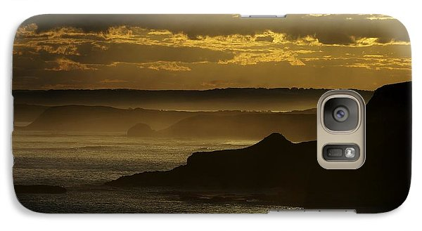 Galaxy Case featuring the photograph Sunset Mist by Blair Stuart