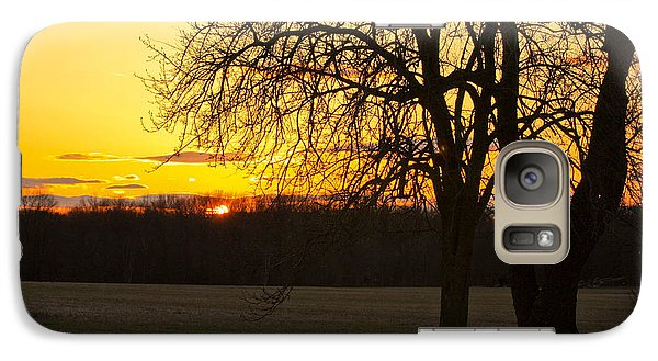 Galaxy Case featuring the photograph Sunset Near The Jersey Shore by Ann Murphy