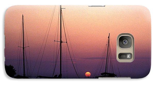 Galaxy Case featuring the photograph Sunset Off Simonton Street 14e by Gerry Gantt