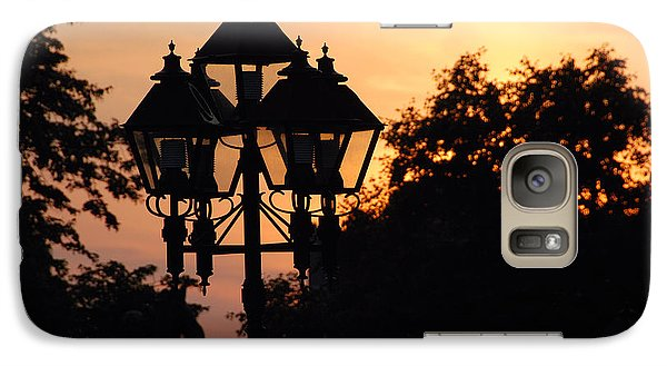 Galaxy Case featuring the photograph Sunset Place Vouquelin by John Schneider