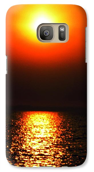 Galaxy Case featuring the photograph sunset Santorini Greece by Colette V Hera  Guggenheim